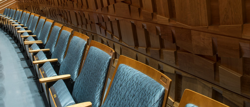 Name a Seat. Musco Center photo by Doug Gifford.