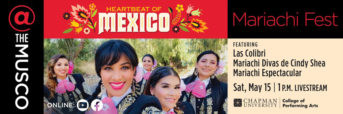 Heartbeat of Mexico: Mariachi Fest Flyer